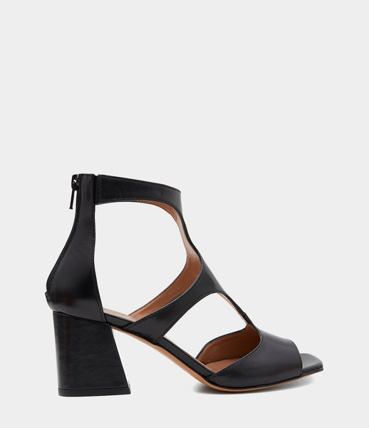 Ankle Cuff Sandals Sonia Black