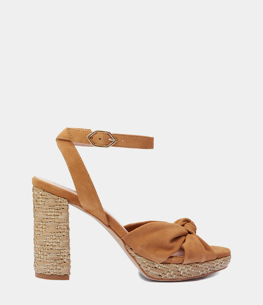 High Heeled Sandals Esma Brown