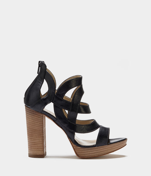 High Heel Sandals Sienna Black
