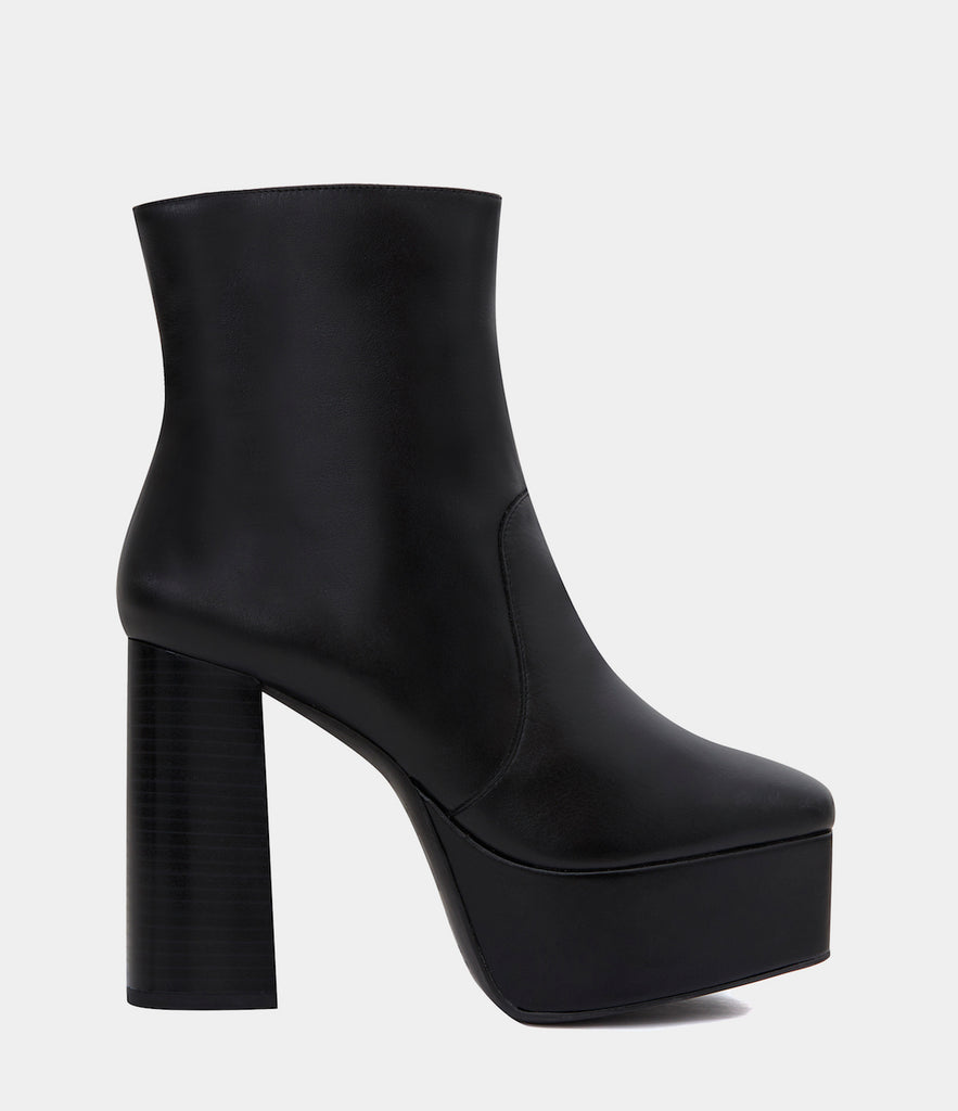 Plateau Ankle Boots Roberta Black