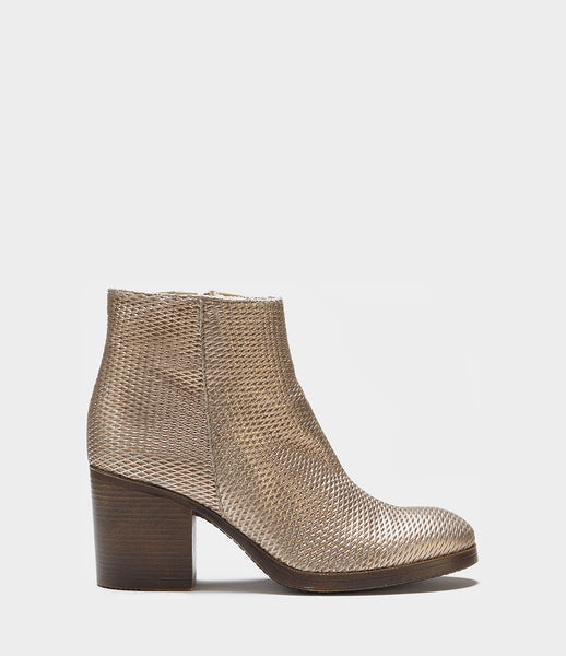 Summer Ankle Boots Tonia Gold