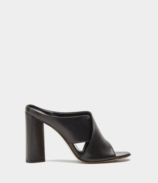 High Heel Mules  Verona Black