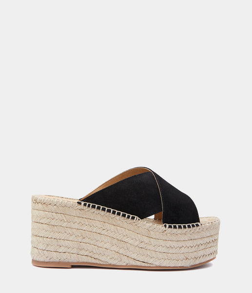 Heeled Mules Ibia Black