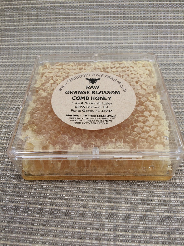 Cut Comb Honey - Orange Blossom