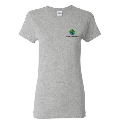 GPF Short Sleeve T Shirt Embroidered - Womens