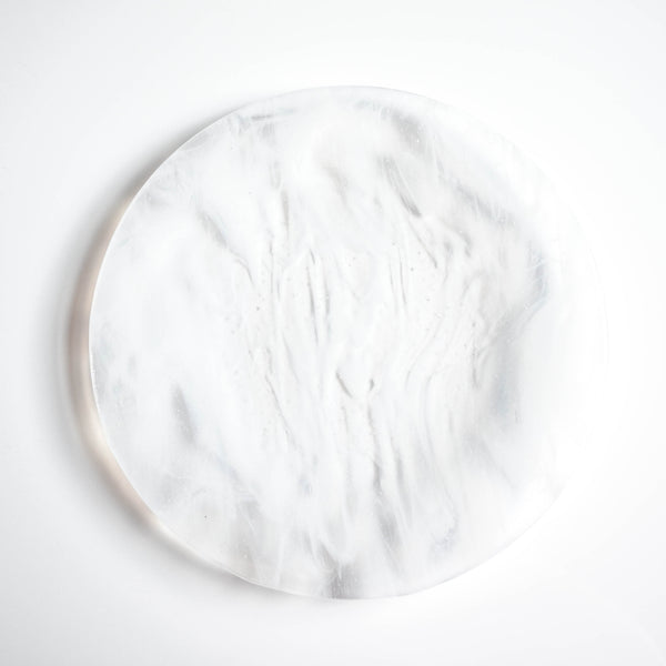 Wispy White Dinner Plates (Set of Two)