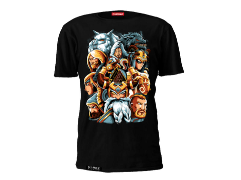 SMITE Norse Gods t-shirt