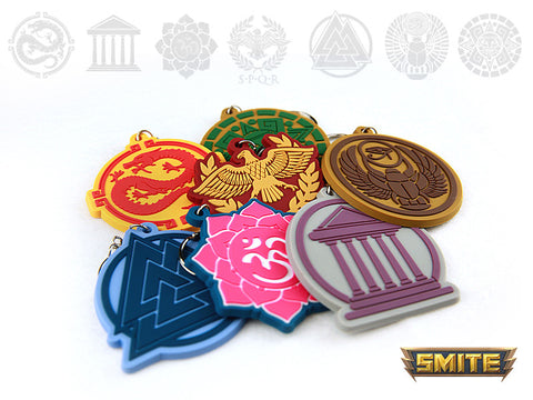 Smite Pantheon keychain bundle