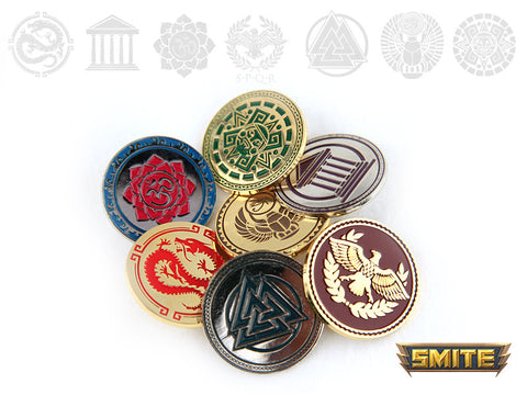 Smite Pantheon pin bundle