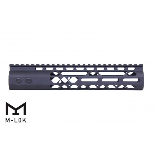 "M-LOK Free Float 10"" Rail Diamond Series-BLACK"