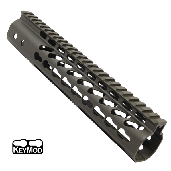 "KeyMod Free Float  10 Rail""- BLACK"