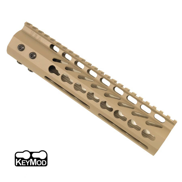 "KeyMod Free Float  10 Rail""-FDE"