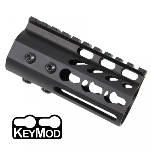 "KeyMod Free Float 4"" Rail-BLACK"