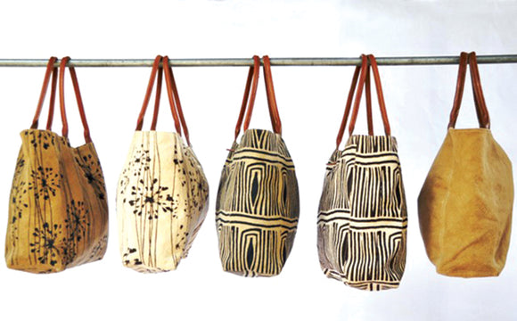 Woven Promises Safari Cotton Canvas Tote