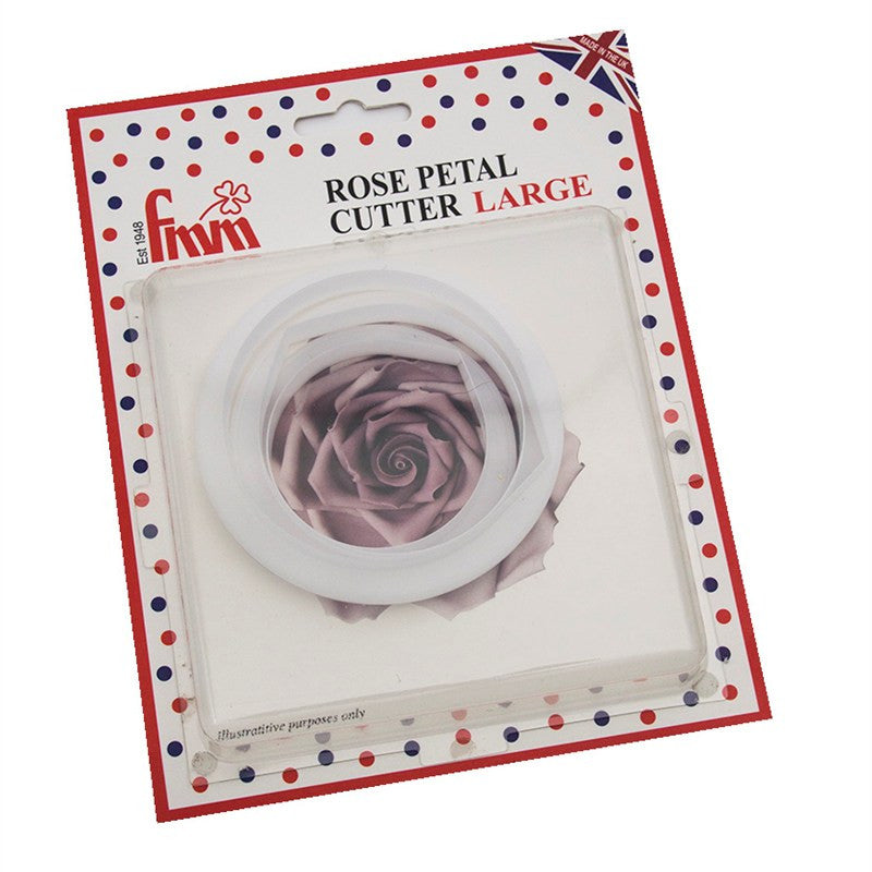 Rose Petal (Large) FMM Cutter