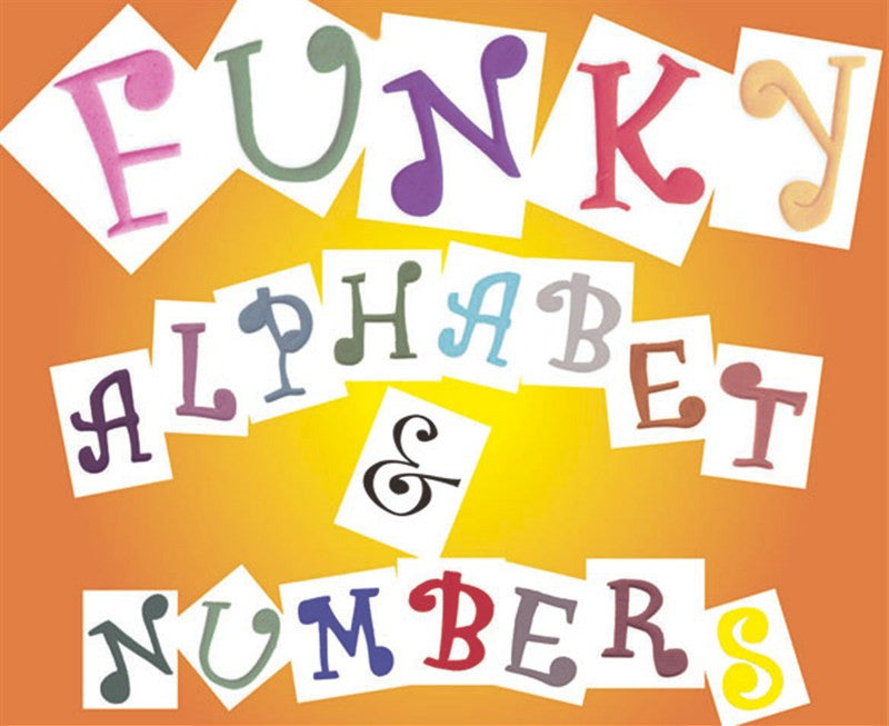Funky Alphabet and Numbers FMM Cutter