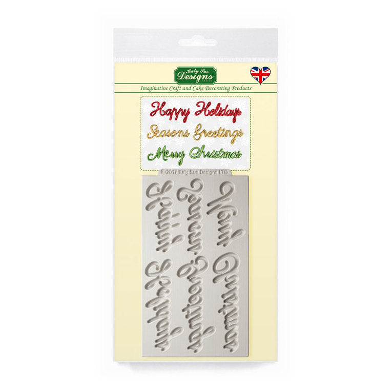 Katy Sue Word Perfect Christmas Message Set