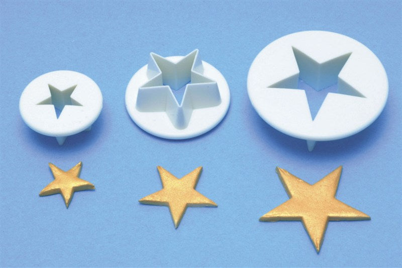 Star Cutters (Plastic, set of 3)