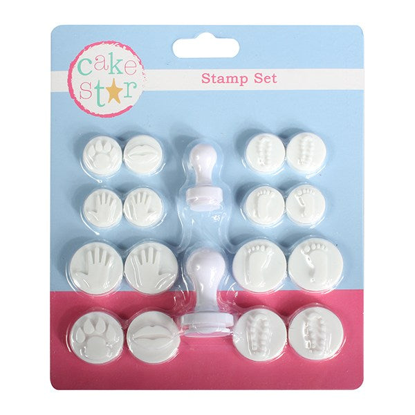 Cake Star Hands and Feet Stamp Set