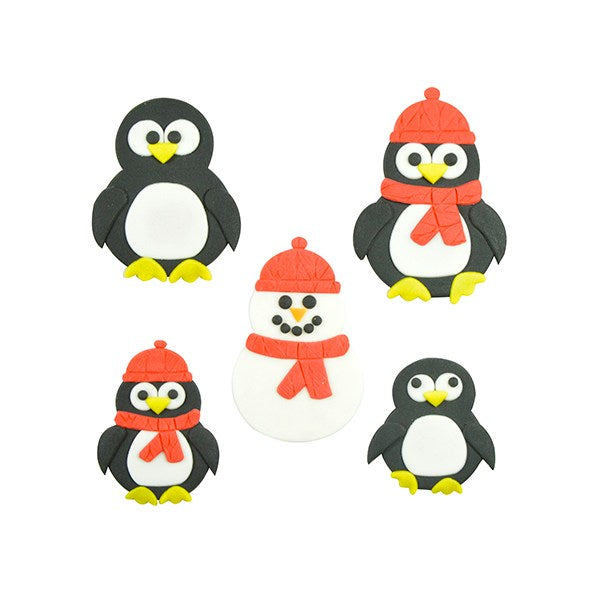 Mummy and Baby Penguin Cutter Set