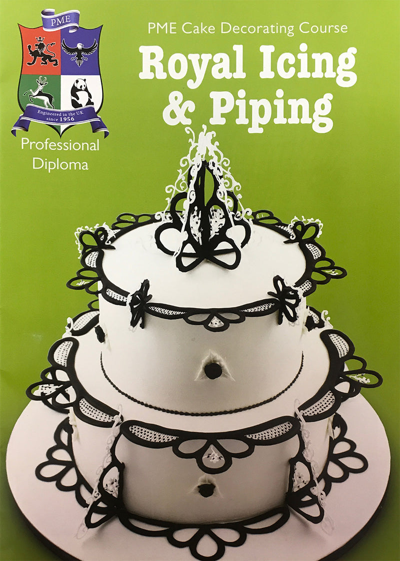 Royal Icing and Piping - PME Diploma