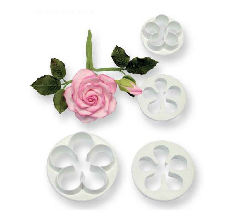 PME Petal Cutters - Set of 4