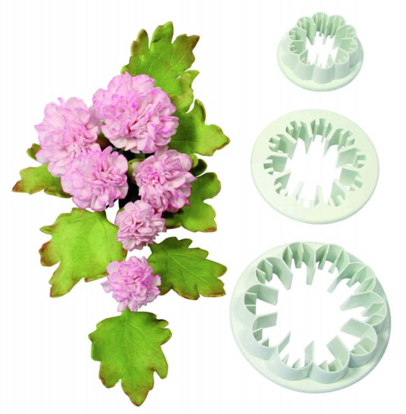 PME Carnation Cutters - Set of 3