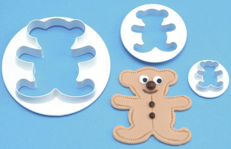 PME Teddy Cutters - Set of 3