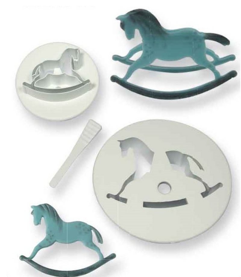 PME Rocking Horse Cutters - Set of 2