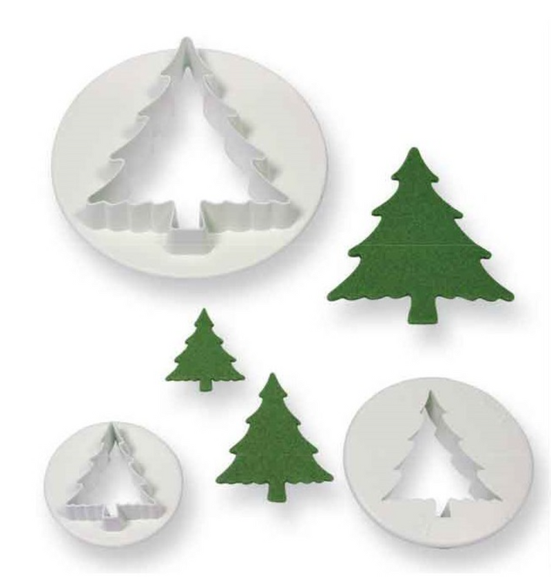 PME Christmas Tree Cutter - Set of 3