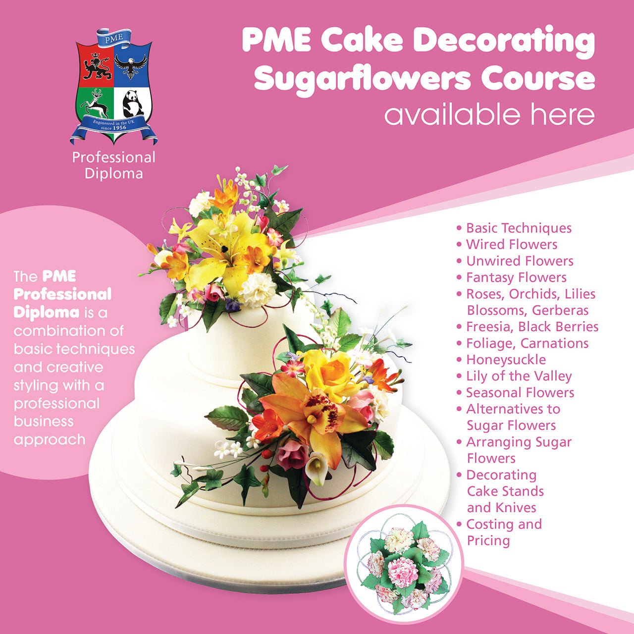 Sugar Flowers Pme Diploma
