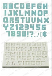 Alphabet - Pixel FPC Mould (C194)