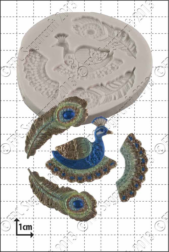Filigree Peacock FPC Mould(C149)