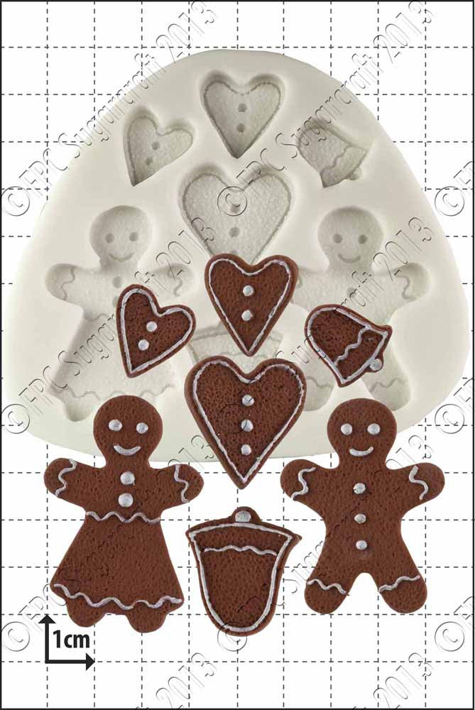 Gingerbread People FPC Mould