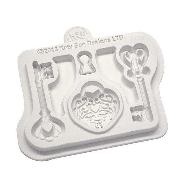 Katy Sue Keys and Locket Mould