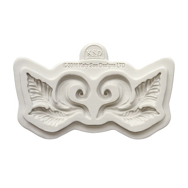 Katy Sue Leaf Swirl Mould