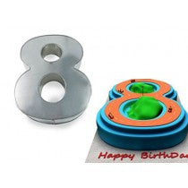 Eurotins Small Number Cake Tins