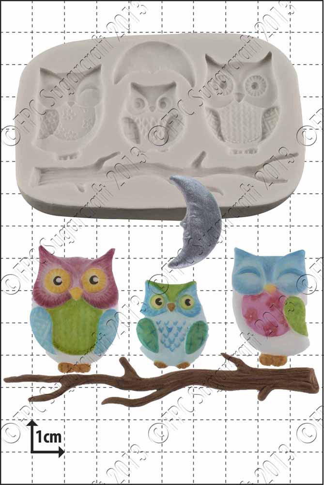 Owl Family FPC Mould