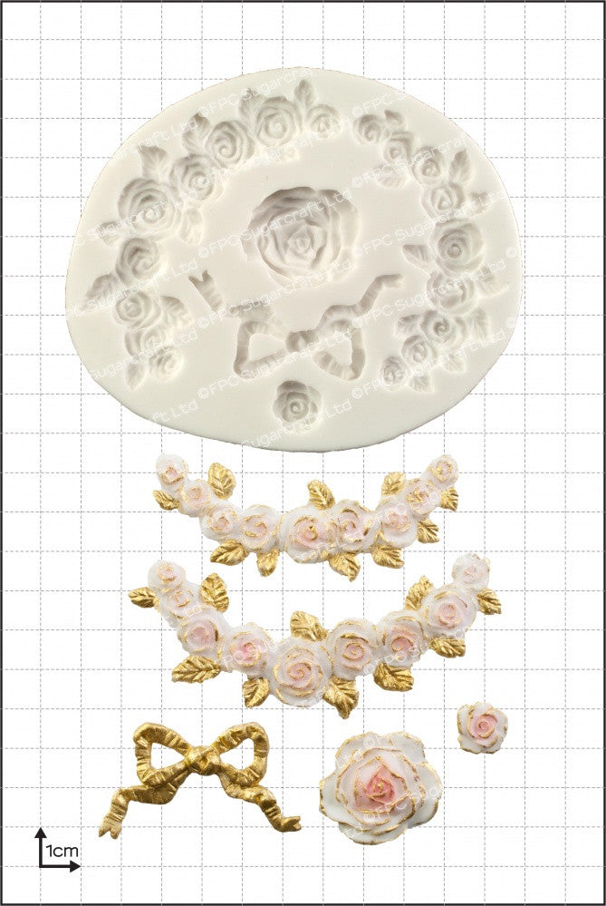 Rose Swags FPC Mould