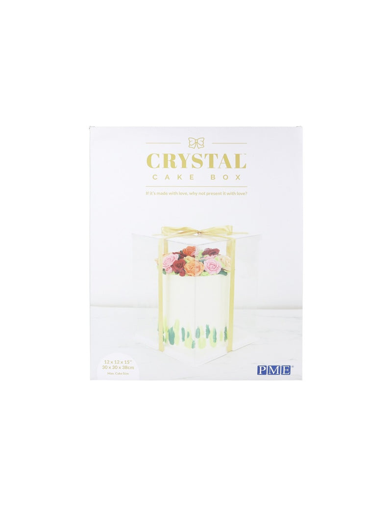 Crystal Cake Boxes