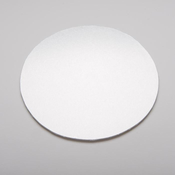Round Cut Edge Cards - White