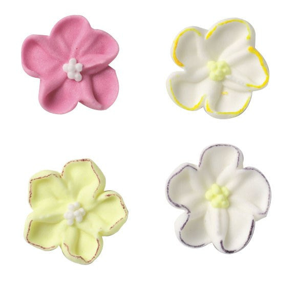 Assorted Wild Roses Sugar Pipings