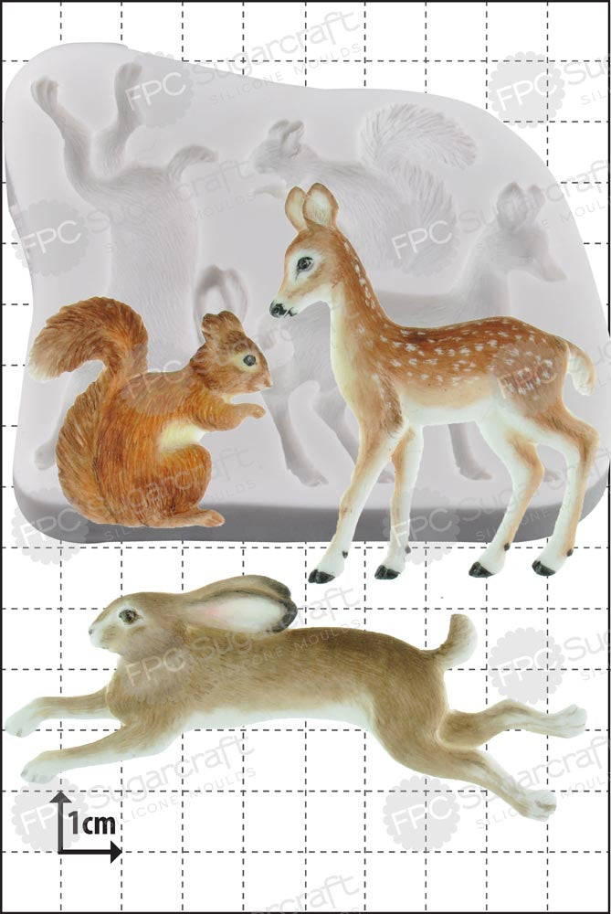 Woodland Animals FPC Mould