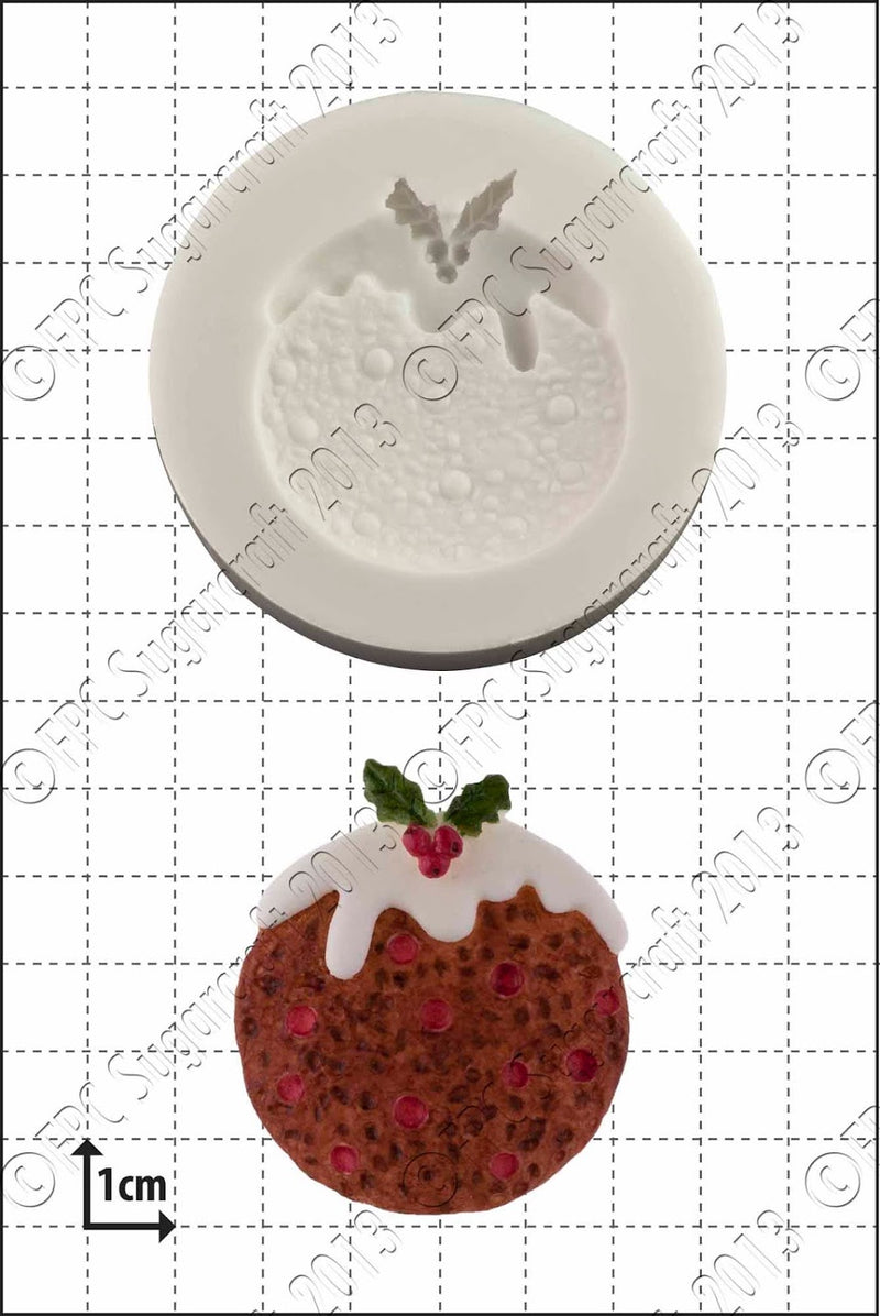 Christmas Pudding FPC Mould(D004)