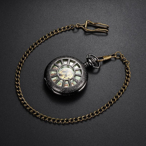 Brussels Steampunk Pocket Watch