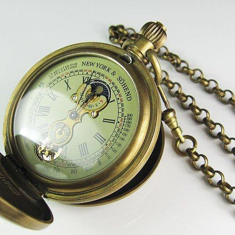 Manchester Antique Style Pocket Watch