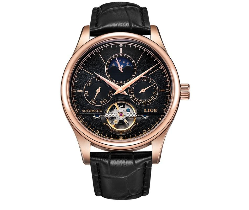 Wellington Automatic Tourbillon: 21 Jewel