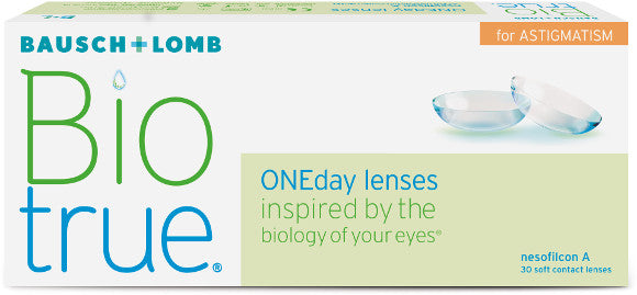 Bausch and Lomb Biotrue ONEDay for Astigmatism 30 Pack