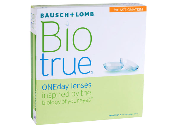 Bausch and Lomb Biotrue ONEDay for Astigmatism 90 Pack