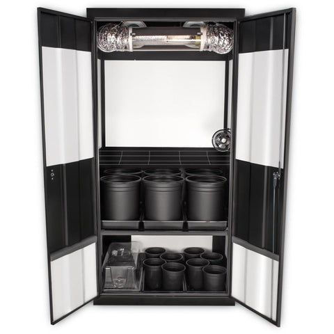 Grow Cabinents - SuperCloset Deluxe 3.0 HPS Soil Grow Cabinet